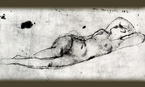 """Genealogía de las Soñantes, versiones de Lucas Cranach el Viejo (1534), Giorgione (1510), Tiziano Vecellio (1524), Nicolas Poussin (1625), Jean Auguste Ingres (1864), Amadeo Modigliani (1919), Pablo Picasso (1920), (1954), (1955), (1961). • <a style=""""font-size:0.8em;"""" href=""""http://www.flickr.com/photos/30735181@N00/8746825875/"""" target=""""_blank"""">View on Flickr</a>"""