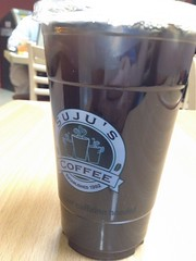 Iced Coffee (earthdog) Tags: apple cup coffee moblog word logo coffeecup cellphone icedcoffee 4s iphone suju 2013 iphoneography iphone4s appleiphone4s uploaded:by=flickrmobile flickriosapp:filter=nofilter