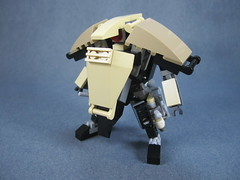 3/4 profile (Messymaru) Tags: original infantry robot lego grunt mecha mech moc