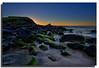 I'm an idealist. I don't know where I'm going, but I'm on my way. (Christolakis) Tags: seascape sunrise rocks australia nsw algae hdr cabaritabeach 1740f40l tweedshire oloneophotoengine canon5dmklll