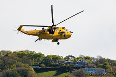 New Quay Wales Lifeboat-.jpg (llaisymor) Tags: wales newquay helicopter lifeboat ceredigion sar raf seaking rnli
