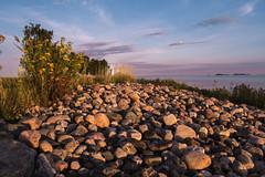 To the Lighthouse (Stewart Collins Photography) Tags: lighthouse rocks beach oulu finland nallikari sunrise