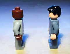 Pacquiao Mayweather face off (littlebricker) Tags: pacman boxing floyd manny pacquiao mayweather