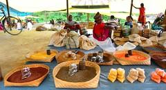Village market (Jean-Marc Vacher) Tags: village market march jagdalpur chhattisgarh inde india