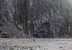 Insignificant (wisnesky1) Tags: rock people nature canon outdoor rockface big small river riverbed stones rocks plants