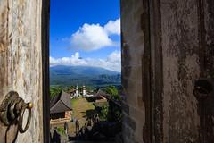 Gunung Agung () Tags: gunung agung pura penataran lempuyang hindu temple bali indonesia karangasem door
