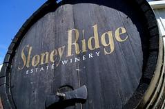 Stoney Rdige Estate Winery (haunted snowfort) Tags: stoneyridgeestatewinery winery vineland ontario canada thetragicallyhip thehip gorddownie niagara lincoln grapes wine highway8 barrel
