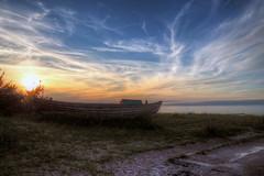 Boat Wreck (neya25) Tags: boat wrack wreck boot olympusomdem10 mzuiko 918mm balticsea ostsee zingst coast kste sundown sonnenuntergang