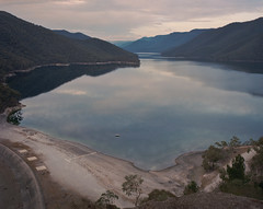 (roundtheplace) Tags: landscape landscapephotography lowlight lake australia australianlandscape reservoir nsw pentax67 portra portra160 mediumformat 120rollfilm 6x7 snowyhydro