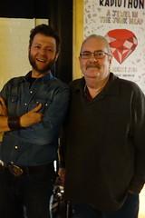 Brian and Zoran (Three Triple R) Tags: broadcastermeeting2016 radiothon2016 ajewelinthejunkheap rrr rrr1027fm