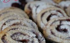 Biscotti girella ripieni di marmellata (RicetteItalia) Tags: biscotti colazione marmellata