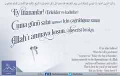 Hayrl Cuma'lar... (Oku Rabbinin Adiyla) Tags: allah kuran quran holyquran ayet ayetler ayetullah verse god religion bible pray muslim salat namaz dua ibadet mescit cami bayram cuma jesus