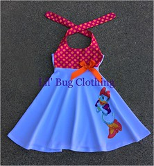 Daisy Duck 2 (Lil' Bug Clothing) Tags: daisy duck girl dress halter summer
