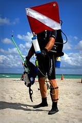 Diving (KyleApl) Tags: diving ocean portrait unconventional