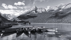 Lake Louise Alberta Canada (MG Expressions) Tags: lakelouise lakes alberta canada banffnationapark parks canoes