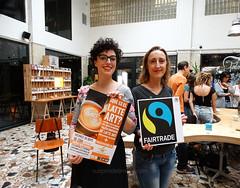 Chicas de Comercio Justo (suspirodelimena.com) Tags: fairtrade ibérica taller latteart