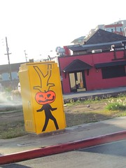 street art (electrofreeze) Tags: street art mural graffiti iconographic emeryville california