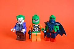 Greenery (th_squirrel) Tags: lego dc comics minifig minifigure minifigs minifigures brickarms joker mirror master maalefaak batman flash martian manhunter