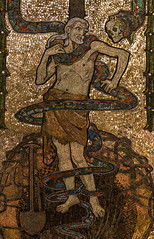 Mortalitas (Lawrence OP) Tags: westminster cathedral mosaic adam originalsin serpent death
