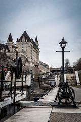 Winter in Ottawa (Siyuant) Tags: ottawa rideau locks river canal canada chateau laurier