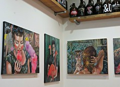 Doan's Tasting Room (knightbefore_99) Tags: doan brewing eastvan cool art tasting room painting powell street awesome frame canvas craft beer small tiny