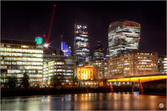 London Bridge and The City 2016 (Bill-Green) Tags: thecity thethames londonbridge tower42 herontower theleadenhallbuilding thewalkietalkie cranes