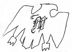 modelo eagle art (kalihikahuna74 (Ryukyu Khan or Okinawa808)) Tags: modelo beer mexico mexican eagle art artwork pen black white sketch drawing cartoon blackandwhite monochrome world culture international latin hispanic spain spanish