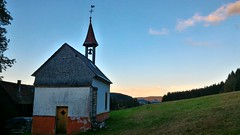 Photowalk Titisee - Hinterzarten, Black Forest, Baden, Germany (Loeffle) Tags: 102016 deutschland allemagne germany baden blackforest schwarzwald foretnoire titisee hinterzarten hdr abendstimmung sunset twilight clear day jockelishof jockeliskapelle