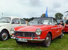 Peugeot 404 Cabriolet (peterolthof) Tags: neurhede 1011092016 peter olthof peterolthof