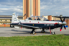 80th FTW T-6A Texan II (thetford569) Tags: 053775 80ftw 80thftw airforce aircraftmilitary airshow code en ksps locations operator squadronunitbase t6texanii t6a trainer type unitedstatesofamerica wingsquadronaircraft