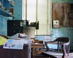 (.tom troutman.) Tags: mamiya 7 film analog 120 6x7 mediumformat kodak portra 400 abandoned industrial nc