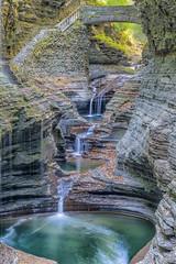 Stair Step Falls (Bob.Z) Tags: watkinsglen newyork unitedstates us waterfall gorge statepark ny usa landscape