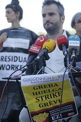 _MG_6441 (txengmeng) Tags: guggenheim museum museoa bilbao bilbo baskenland streik greba huelga