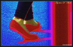 Scarpette  rosse - Settembre-2016 (agostinodascoli) Tags: scarpette rosso scrpetterosse nikon nikkkor art digitalart digitalpainting fullcolor colore photopainting agostinodascoli texture
