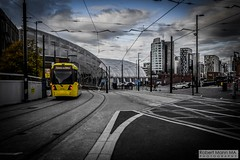 ManchesterVictoria2016.10.09-27 (Robert Mann MA Photography) Tags: manchester manchestervictoria manchestercitycentre greatermanchester england victoria victoriastation manchestervictoriastation manchestervictoriarailstation victoriarailstation city cities citycentre architecture summer 2016 sunday 9thoctober2016 manchestermetrolink metrolink trams tram nightscape nightscapes night light lighttrails