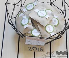 Paper Smooches - Deco Bag Die / Advent Calendar 2016 (jennasdesign) Tags: handmade advent calendar christmas