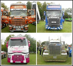 Hull Motor Show... (** Janets Photos **) Tags: uk hull hgv lorries articulatedtrucks units colours events shows publicparks scaniatrucks