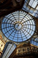 The glass dome - Galleria Vittorio Emanuele II (guido_oliveti) Tags: cupola glass dome galleria vittorio emanuele