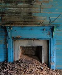 (C. Neil Scott) Tags: northcarolina henryrivermillvillage hungergames district12 burkecounty abandonded chimney waspnest hearth