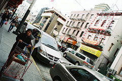 San Francisco (Peter Gutierrez) Tags: photo united states usa us america american americana california californian ca san francisco franciscan china town china town chinese urban city street streets sidewalk sidewalks pavement market crowd crowds crowded people peter gutierrez petergutierrez film