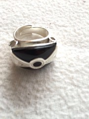 IMG_0316 (KamaJewelryTimbuktu) Tags: tuareg jewelry silver finesilver agate rings bagnesdoigt tuaregjewelry tuaregjewellery