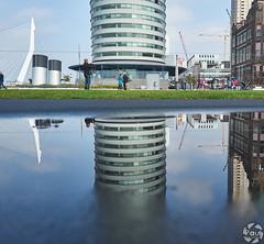 Reflet (PaaulDvD) Tags: rotterdam colors river maas netherlands boat water city urban