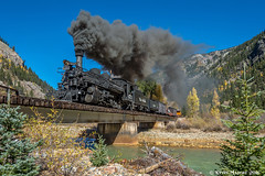 Twin Bridges - MP 489.9 (kdmadore) Tags: drgw denverriograndewestern durangosilverton dsng durango silverton steamlocomotive steamengine railroad train narrowgauge