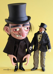 Hyde Monster Home 7 (ribefex.customs) Tags: mego hyde monster retro halloween vinyl cloak hat