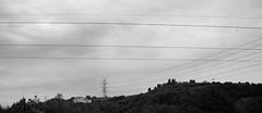 Castle of Wires (gioelegaggio) Tags: italy florence firenze scandicci villa castelpulci abbey abbazia landscape black white blackwhite nikon d5500 tecnology nature paesaggi panorami houses electricity wires castle castles school natura project progetto italians italiani information news bianco e nero monocromo allaperto cielo sky outdoors toscana tuscany dx ruinit ngc