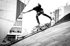 Skater 02 (Kristal Han) Tags: skater skate man sport jump