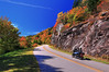 The Open Road (Waterfall Guy) Tags: fall autumn color blue ridge parkway north carolina mortorcycle