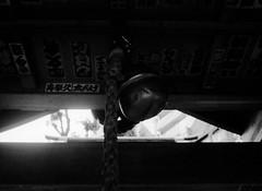 (camino solar) (Dinasty_Oomae) Tags: minolta  minoltina  minoltinas s   tokyo    monochrome outdoor street bw blackwhite blackandwhite  taitoku  ikenohata  sakaiinarishrine  shirine  bell