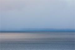 blue....... (Brigitte Lorenz) Tags: ocean light blue arcticocean sea minimalism nature september abstract