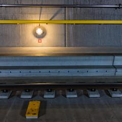 nineteen 1x1 (swissgoldeneagle) Tags: lamp lampe basistunnel rx100m4 tunnel switzerland graubnden sonycamera grisons graubuenden light gbt licht geleise tracks schienen gotthardbasistunnel sedrun rx100 neunzehn 19 gotthard 1x1 nineteen indoor gotthardbasetunnel gottardino basetunnel graubnden tujetsch schweiz ch